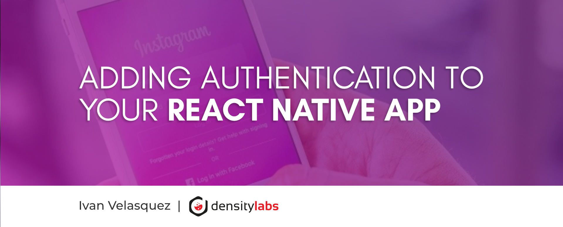 Adding authentication to your react native app